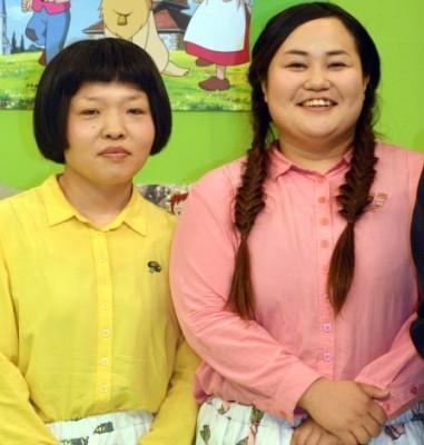 2015上半期ブレイク芸人4位おかずクラブ(左から)オカリナ、ゆいP (C)ORICON NewS inc.