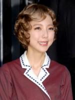 ミュージカル『グランドホテル』の取材会に出席した真野恵里菜