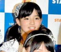 """""""痩せて美少女化""""が話題のモーニング娘。'15、鈴木香音(11年6月撮影)"""