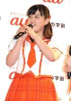 """""""痩せて美少女化""""が話題のモーニング娘。'15、鈴木香音(14年3月撮影)"""