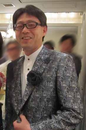 """""""女性装""""をする前の安冨歩氏"""
