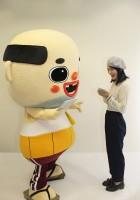 ふなっしー&ちっちゃいおっさんインタビュー (C)oricon ME inc.