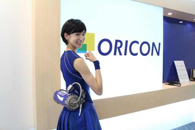 擬人化したポカリを演じた小貫莉奈 (C)oricon ME inc.