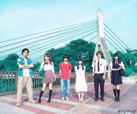 『あの日見た花の名前を僕達はまだ知らない。』が実写ドラマ化(左から)高畑裕太、松井愛莉、村上虹郎、浜辺美波、志尊淳、飯豊まりえ