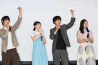 撮影地の神奈川県立鎌倉高等学校をサプライズ訪問した