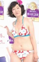 約15キロの減量に成功し、水着で登場したたんぽぽ川村エミコ (C)ORICON NewS inc.