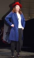 ペギー・カーターをイメージした衣装で登壇した吉田沙保里=『アントマン』MovieNEX発売記念イベント (C)ORICON NewS inc.