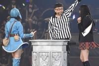 AKB48グループ『第6回じゃんけん大会』大島涼花(AKB48 Team B)、野村奈央(AKB48 ドラフト研究生)