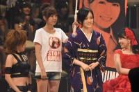 AKB48グループ『第6回じゃんけん大会』山本彩(NMB48 Team N)、小嶋真子(AKB48 Team 4)、小嶋菜月(AKB48 Team A)