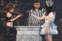 AKB48グループ『第6回じゃんけん大会』佐藤妃星(AKB48 Team 4)、高橋みなみ(AKB48 Team A)