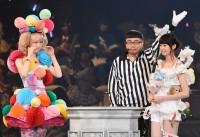 AKB48グループ『第6回じゃんけん大会』大森美優(AKB48 Team 4)、達家真姫宝(AKB48 Team B)