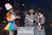 AKB48グループ『第6回じゃんけん大会』柏木由紀(AKB48 Team B)、武藤十夢(AKB48 Team K)