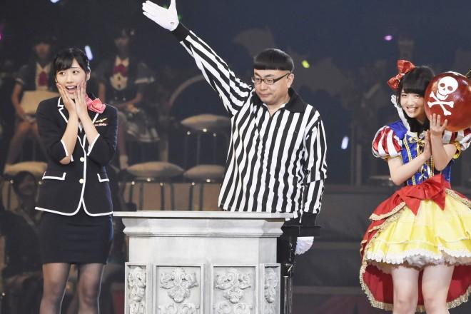 AKB48グループ『第6回じゃんけん大会』藤田奈那(AKB48 Team K)、村山彩希(AKB48 Team 4)