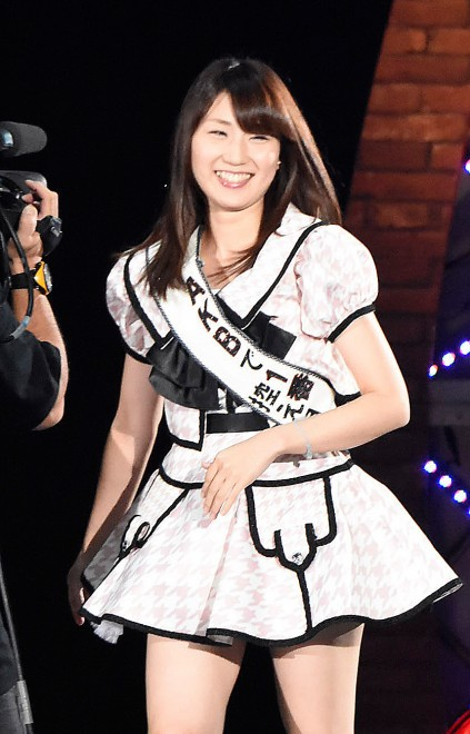 AKB48グループ『第6回じゃんけん大会』中田ちさと(AKB48 Team K)