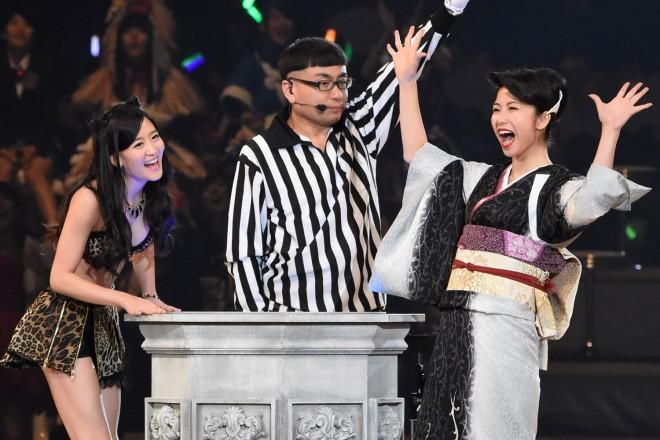 AKB48グループ『第6回じゃんけん大会』上西恵(NMB48 Team N)、横山由依(AKB48 Team A)