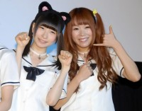 でんぱ組.incの(左から)藤咲彩音、成瀬瑛美(C)ORICON NewS inc.