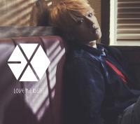 EXOのシングル「Love Me Right 〜romantic universe〜」【初回盤 BAEKHYUN(ベクヒョン)Ver.】