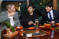 『ぴったんこカン・カン』(TBS系)で高尾山ハイキングをしたビートたけし、西島秀俊、安住紳一郎アナ