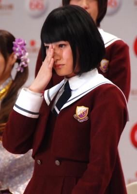 念願の初出場に涙する乃木坂46の生駒里奈