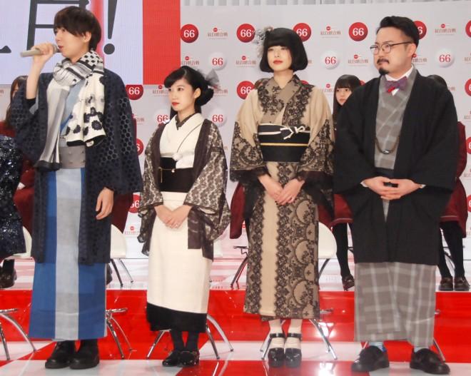『第66回NHK紅白歌合戦』に初出場するゲスの極み乙女。