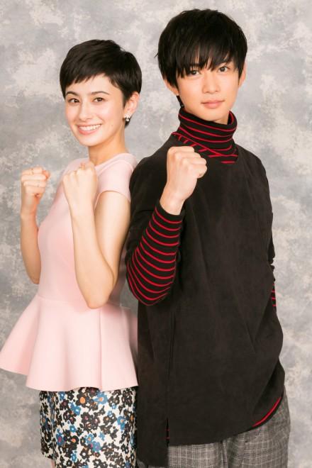 (左から)ホラン千秋、千葉雄大