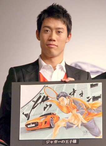 テニスの錦織圭選手 (C)ORICON NewS inc.