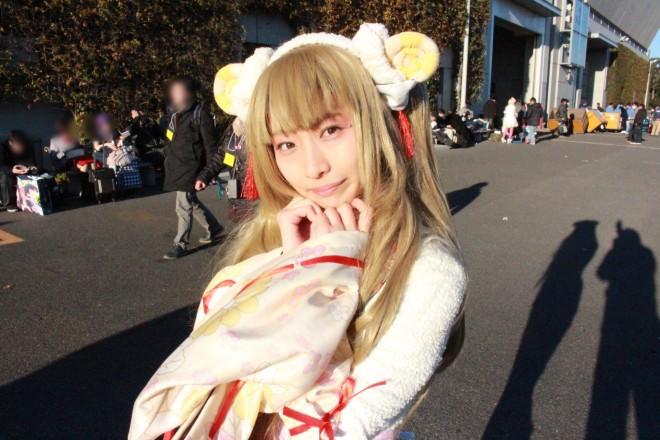 【コミケ89】コスプレイヤー 宇葉野花南さん @kosuaka0702(1日目)