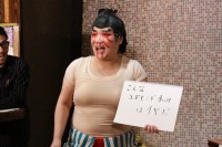 """「芸能人対抗! No.1""""ストリートファイターLOVE""""決定戦」の様子"""