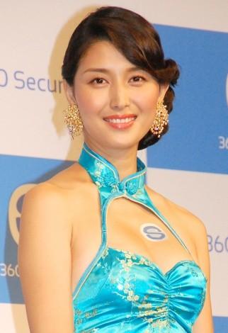 セキュリティアプリ『360セキュリティ』日本市場戦略発表会に出席した橋本マナミ (C)ORICON NewS inc.