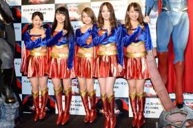 SUPER☆GiRLS/『バットマン vs スーパーマン』ジャパン・プレミア盛大に開催!(写真:鈴木一なり)
