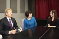 ロマンポルノ リブートプロジェクトのリーダー・永山雅也氏、サブリーダー・高木希世江氏、西尾沙織プロデューサー(左から)