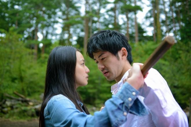 塩田明彦監督『風に濡れた女』(C)2016日活