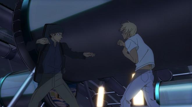 『機動戦士Zガンダム』劇場版以来10年ぶりとなった池田秀一と古谷徹のバトルシーン