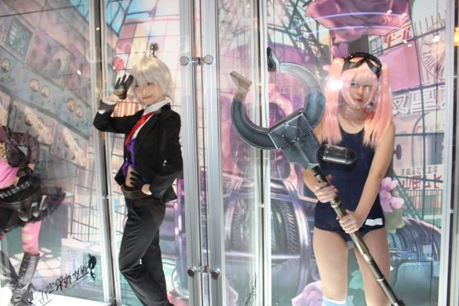 【ニコニコ超会議2016】コスプレイヤー (左から)ふとんさん @hu_ton_、南ふうたそさん @fuutaso_1229