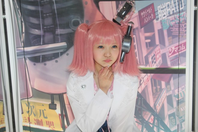 【ニコニコ超会議2016】コスプレイヤー 橘桃奈さん @momona__t