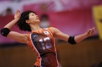 躍動感溢れる木村選手(フォト&エッセイ『Saori』より/JVA承認2011-11-003)【収録カット】