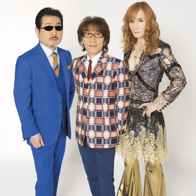 THE ALFEE(左から)桜井賢、坂崎幸之助、高見沢俊彦