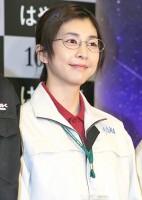 映画『はやぶさ』会見の竹内結子。地味目メイクも似合う! (C)ORICON DD inc.