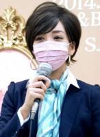滝川クリステル風のメイクをしたざわちん (C)ORICON NewS inc.
