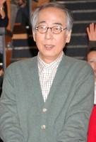 日曜ドラマ『スクール!!』完成披露試写会後に会見を行った岸部一徳 (C)ORICON DD inc.