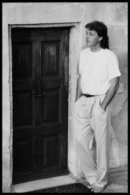 1991年当時 (C)1991 Paul McCartney/Photographer:Linda McCartney