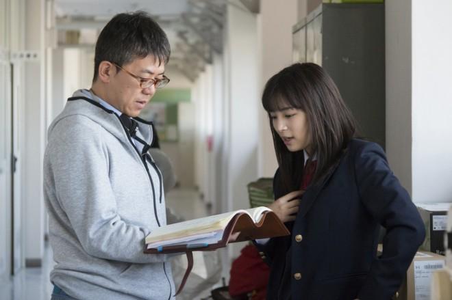 メイキングカット(C)2017 映画「チア☆ダン」製作委員会