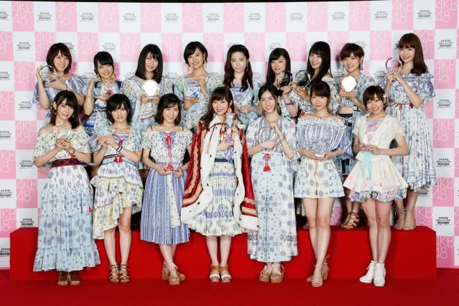 選抜メンバー(1〜16位)