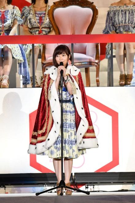 1位 指原莉乃(HKT48 Team H)
