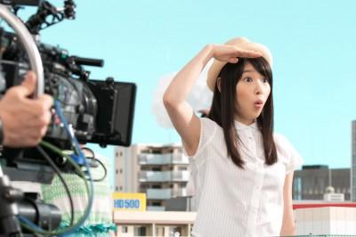 何度もダンスの確認する桜井日奈子