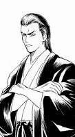 """名刀""""紅桜""""を作った刀匠の息子である刀鍛冶屋の村田鉄矢(安田顕)"""