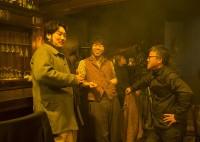 チョ・ジヌン、チェ・ドクムン、監督のメイキングカット