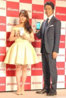 『NTTドコモ2015夏 新サービス・新商品発表会』に出席した高畑充希(C)ORICON NewS inc.