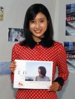 NHK連続テレビ小説『まれ』の写真集発売イベントを開催した土屋太鳳 (C)ORICON NewS inc.