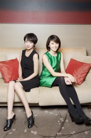 長澤まさみ&波瑠 映画『潔く柔く』インタビュー(写真:草刈雅之)